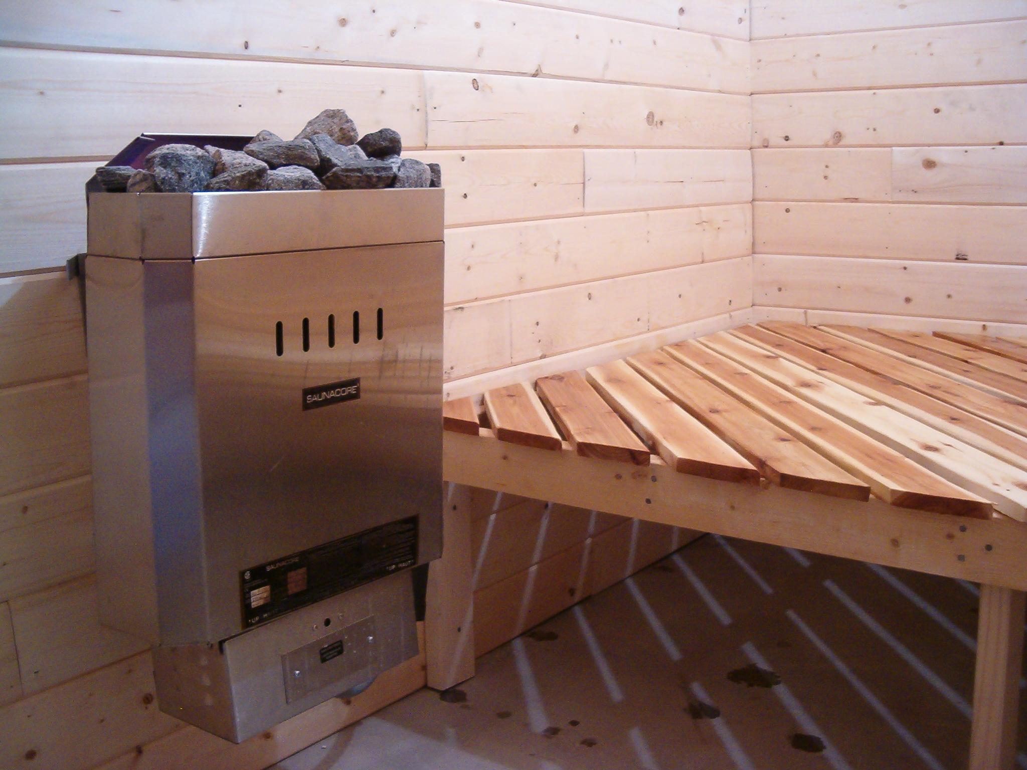 Homemade sauna | Mrpresto's Blog